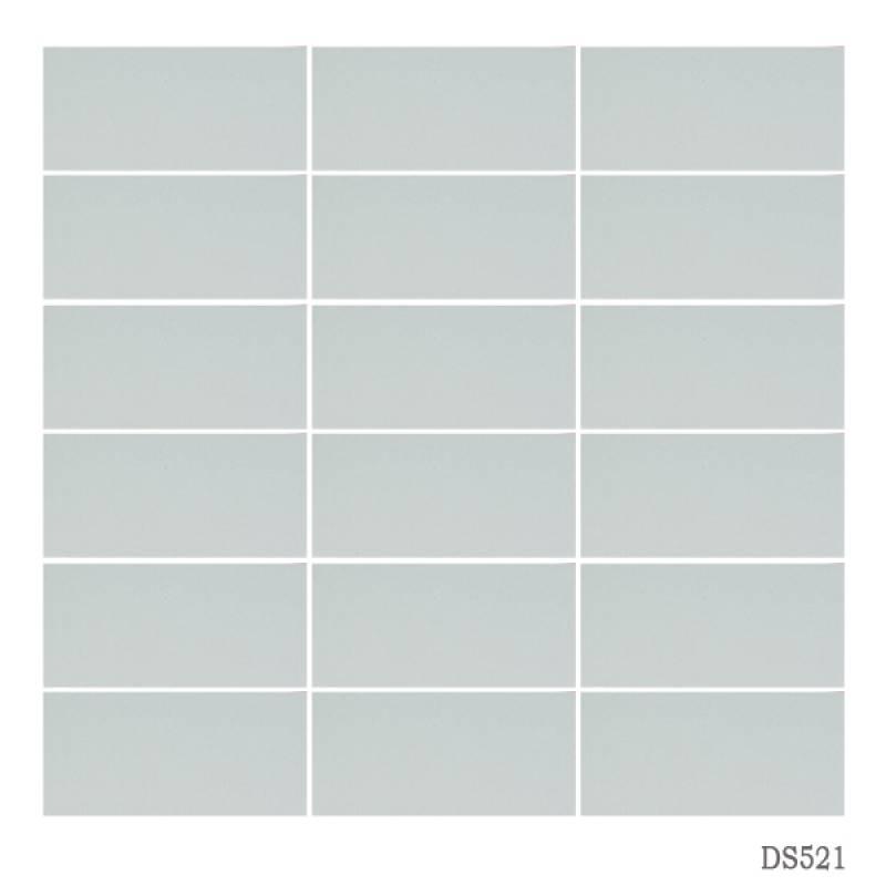 Gạch thẻ ốp tường màu trắng sữa 45x95mm 521